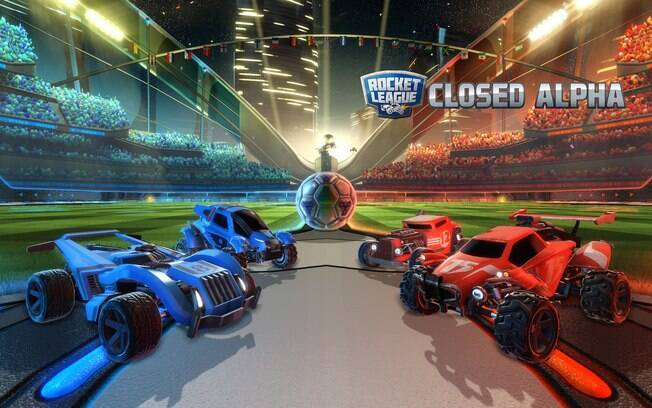 Photo Wallpaper Car Rocket League Jogo Que Mistura Futebol Com Carros Sai Em