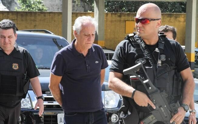 O preso apontado pela Operação Lava Jato como o maior operador de propina na Diretoria Internacional da Petrobras, João Rezende Henriques