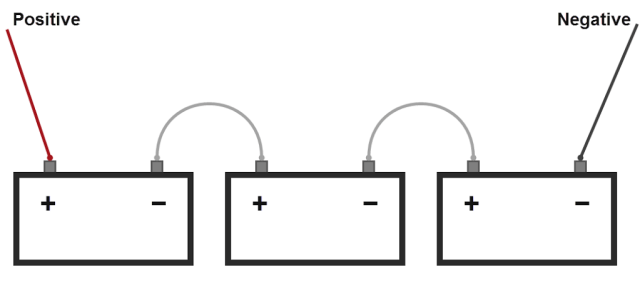 parallel battery circuit parallel battery circuit with
