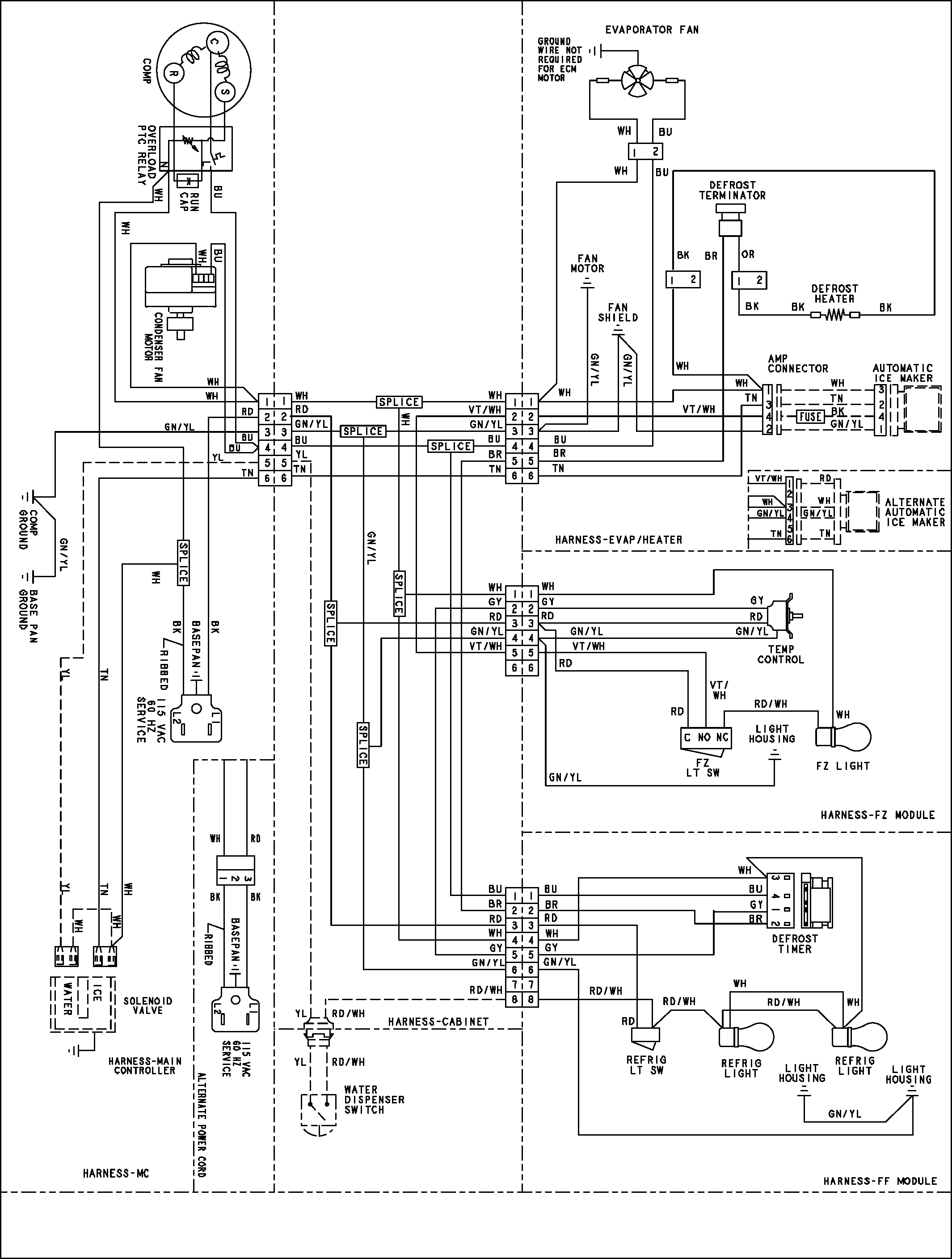 old vw bug wiring harness