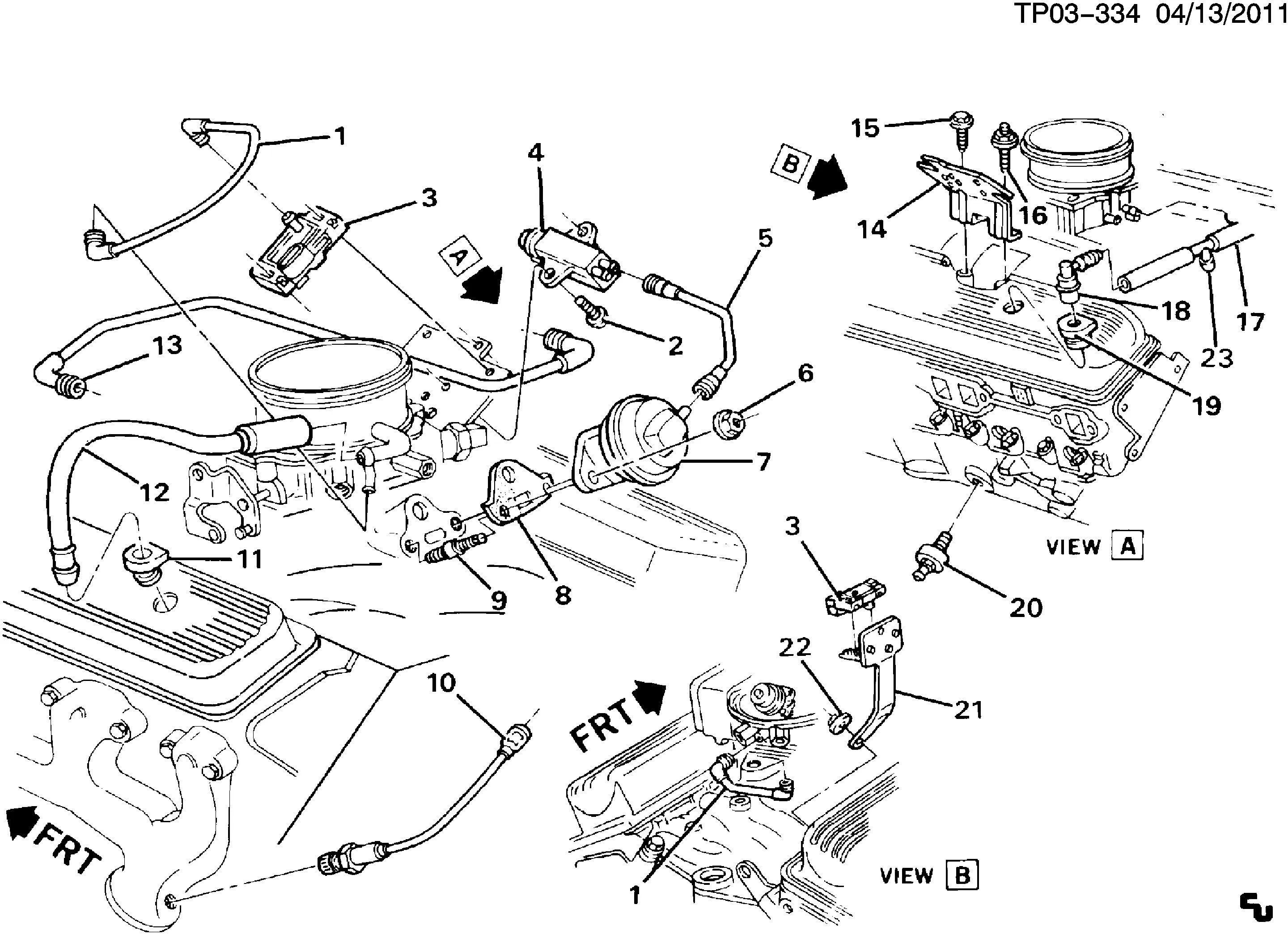 350 vortec engine diagram
