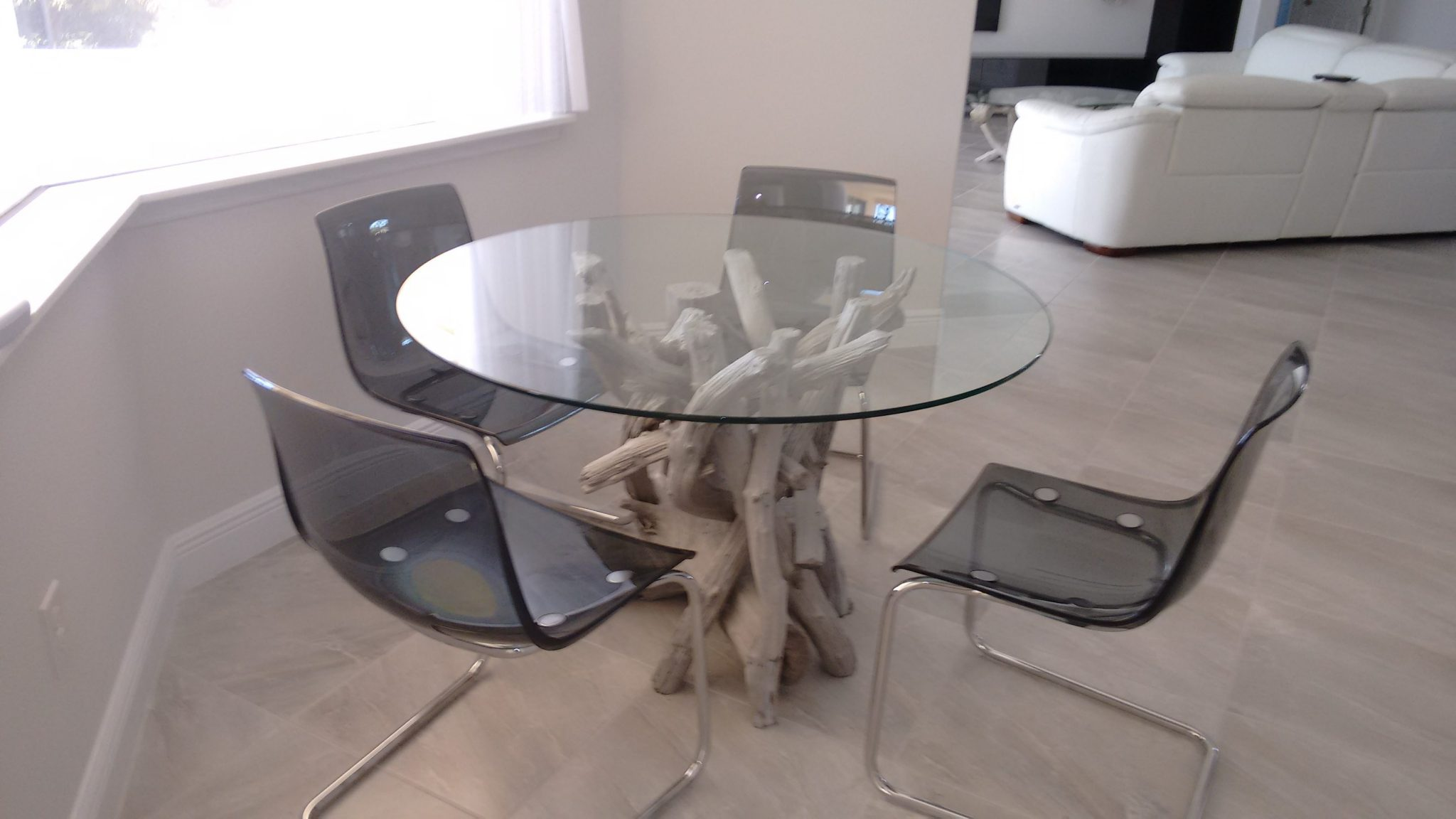 A Driftwood Dining Table For Tony Driftwood Decor