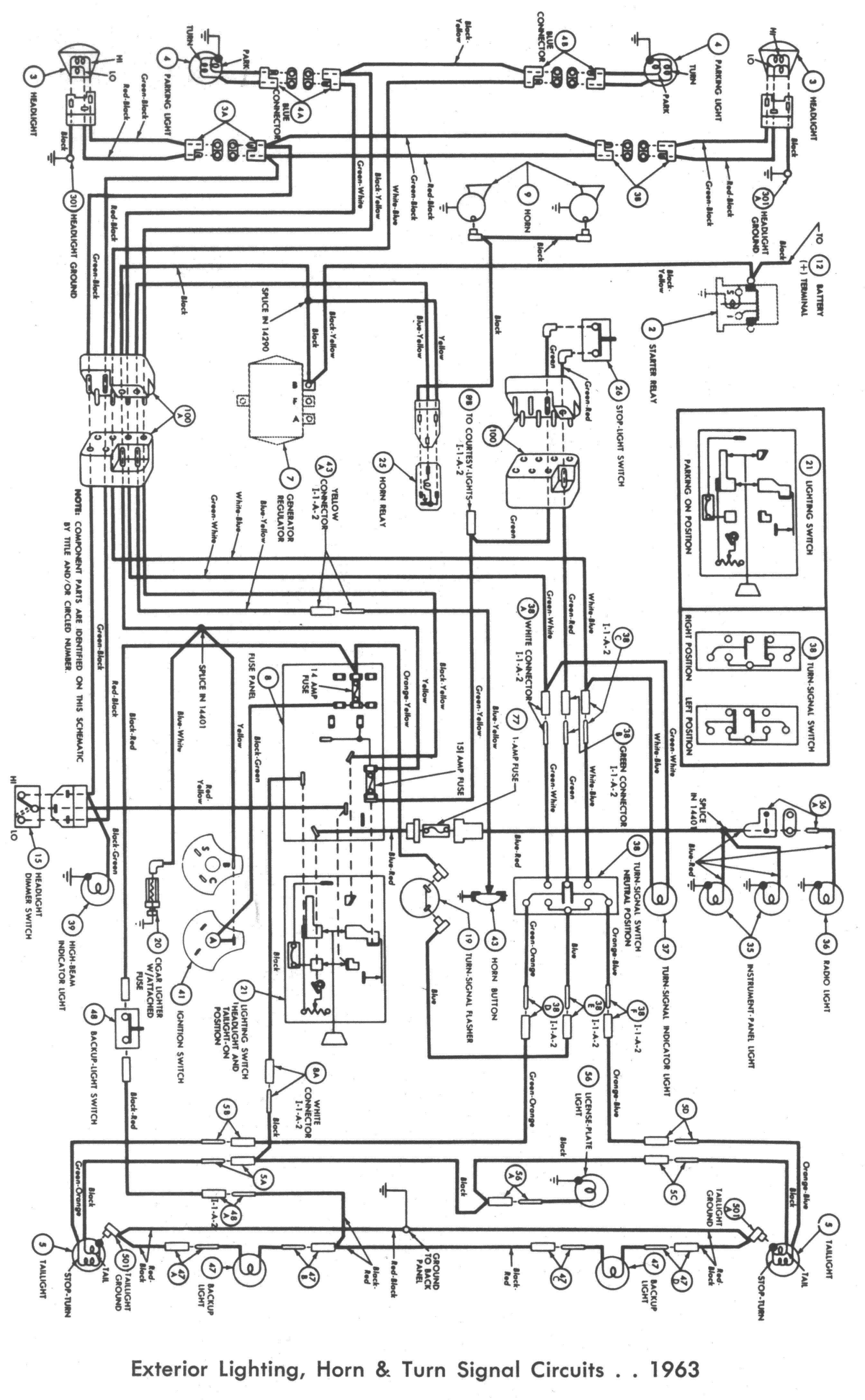 1963 ford fairlane wiring diagram besides 1963 ford thunderbird wiring