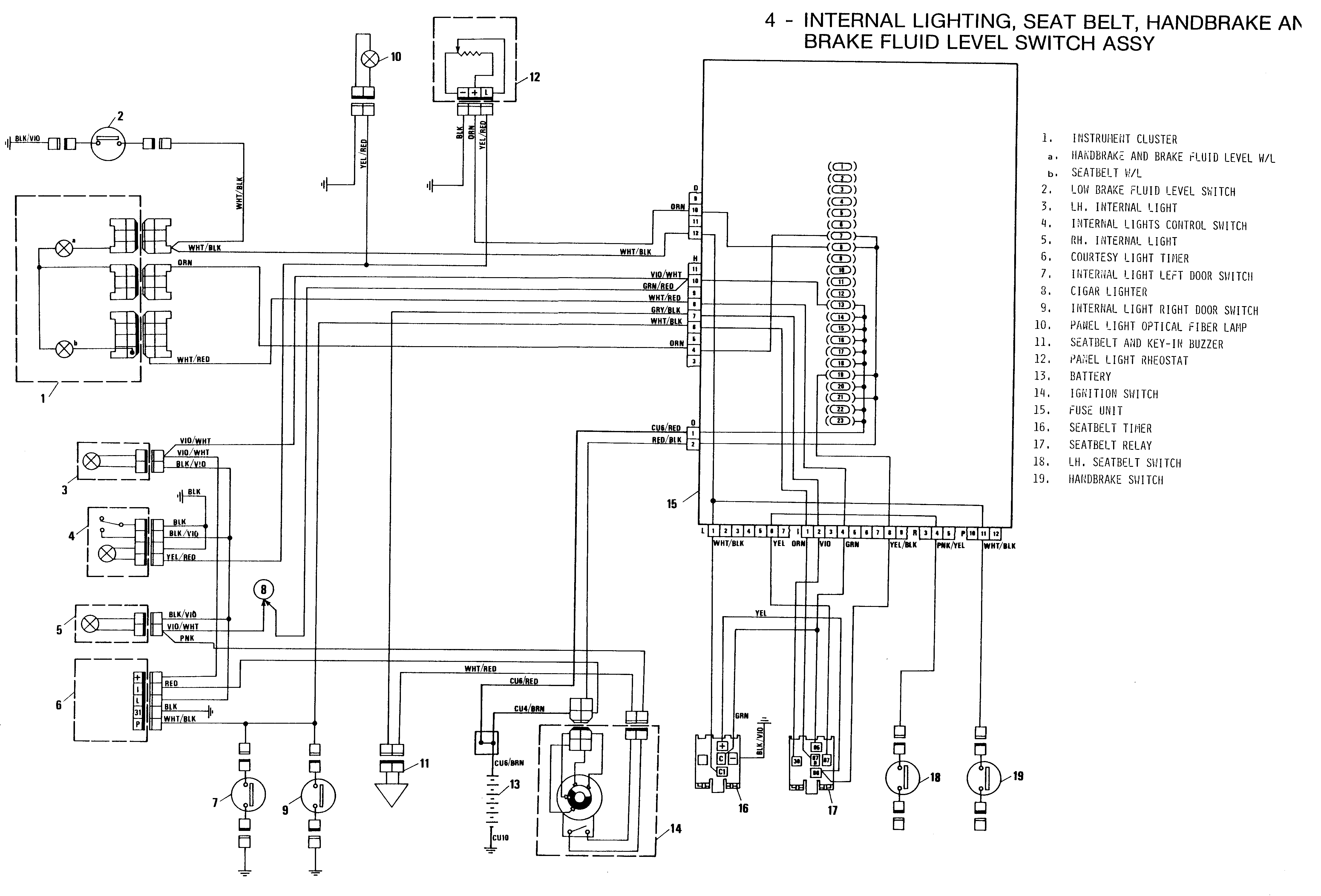 oliver 1655 tractor light wiring diagram