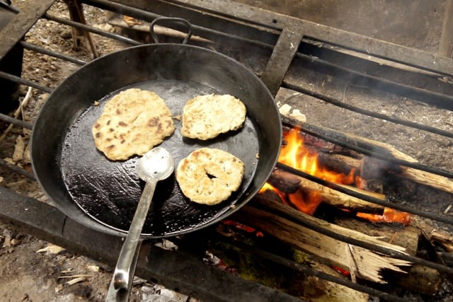 Simple Flatbread Recipe Campfire Cooking The Hedge Combers