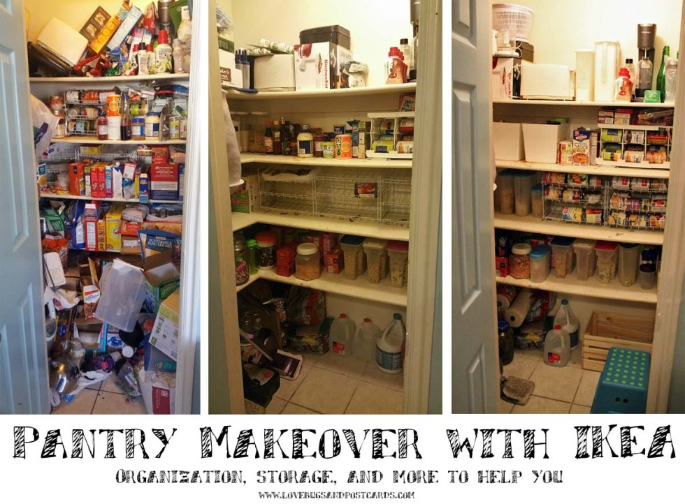 Kitchen Pantry Organization And Make Over Lovebugs And