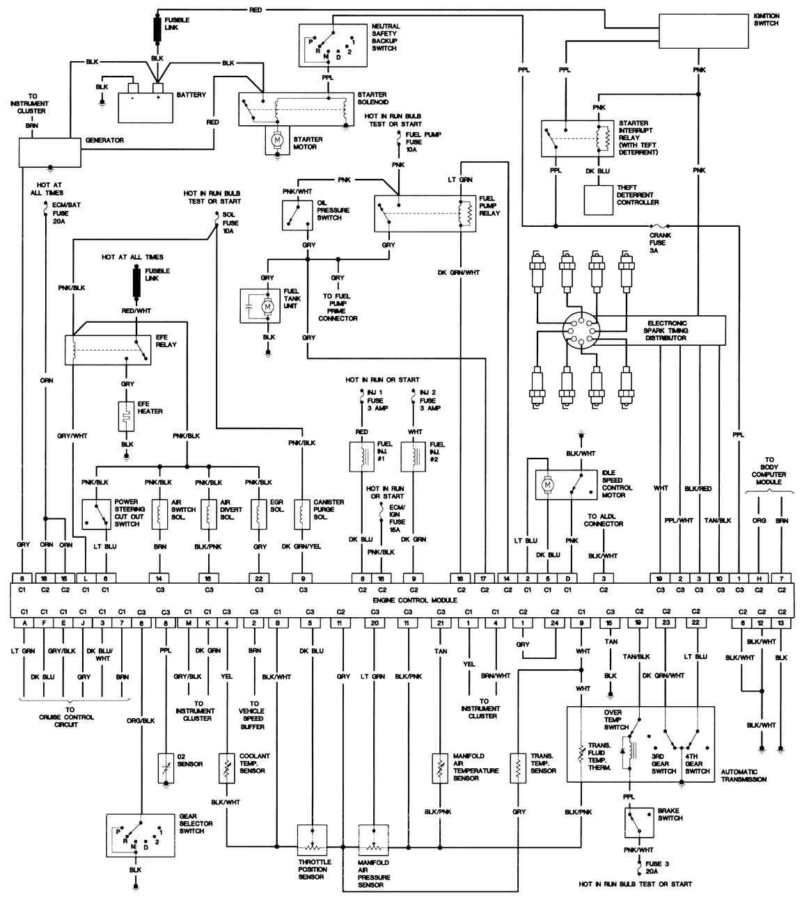 tv wiring diagram four winds rv