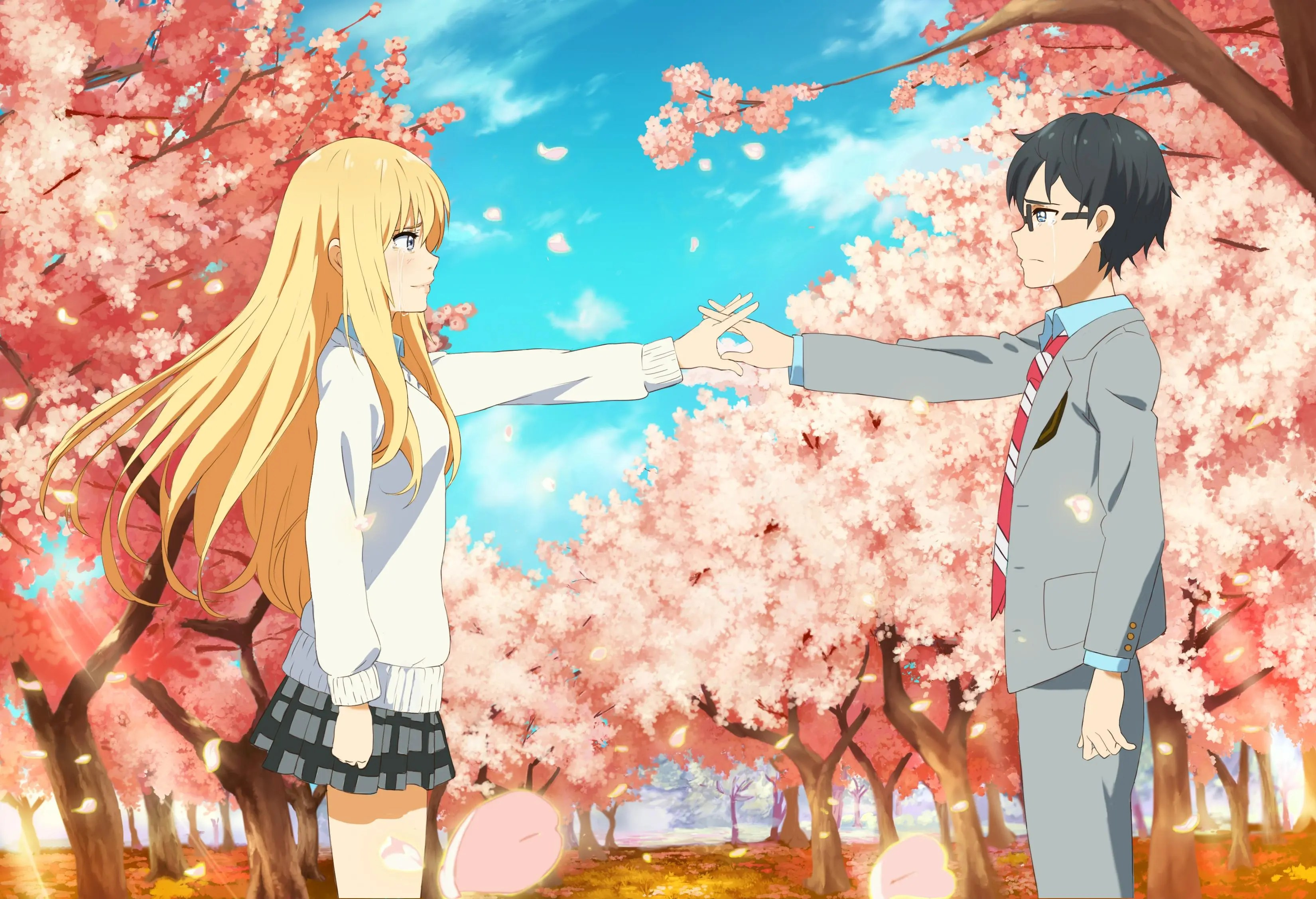 Fall Themed Wallpaper Desktop Interview With Your Lie In April Creator Naoshi Arakawa