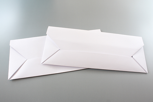 How To Make A Paper Envelope From A4 Size Paper