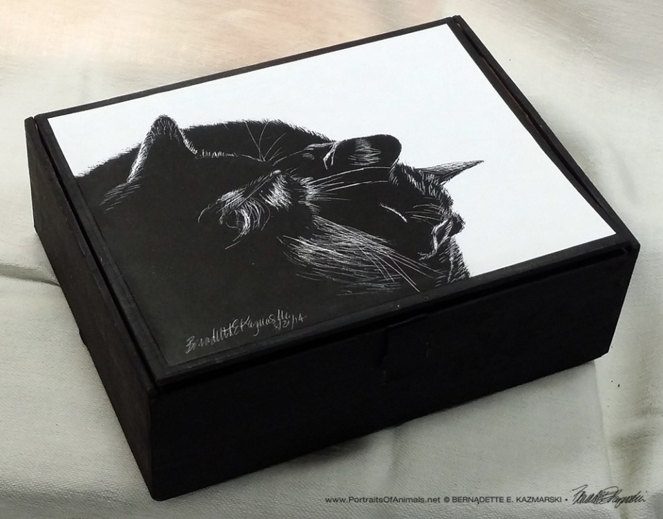 Black And Light Vintage Cardboard Cigar Box Keepsake