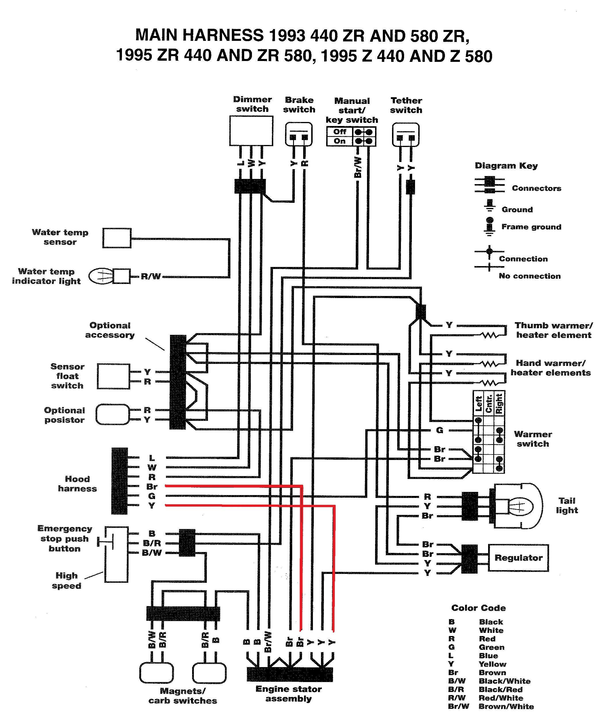 yamaha atv wiring diagram for starters