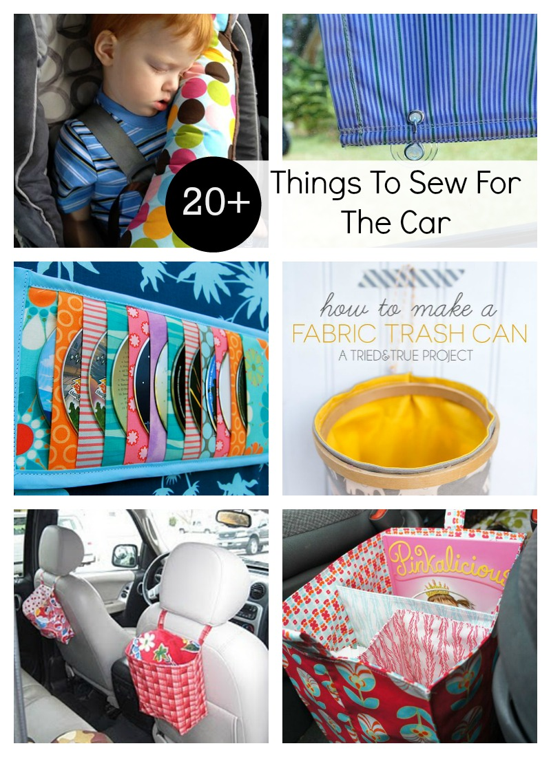 20 Diy Things To Sew For The Car The Daily Seam