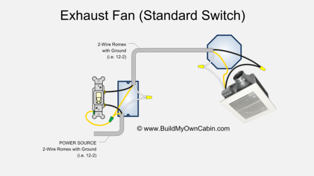 wiring diagram install ceiling exhaust fan light switch