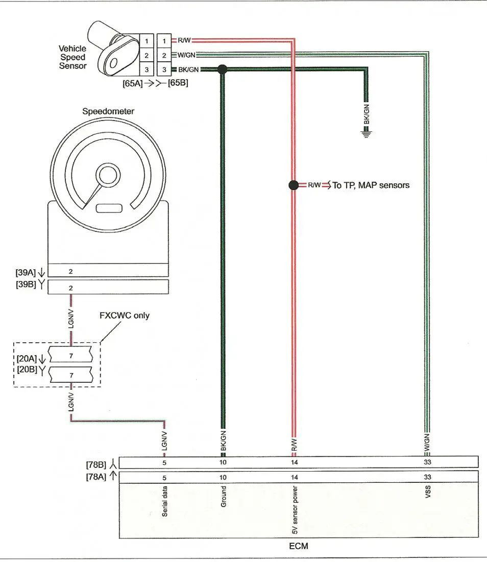 4l60e speed sensor wiring diagram