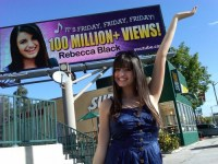 Rebecca Black – 1,000,000+ views!