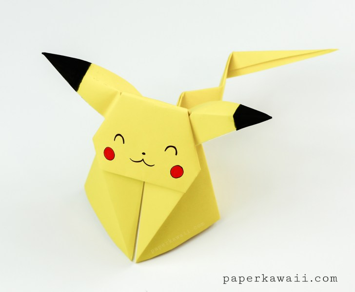 Origami Pikachu Tutorial Cute Origami Pokemon Paper