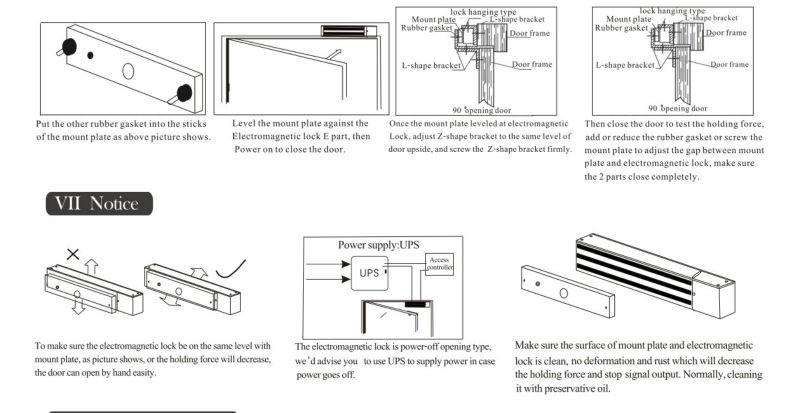 electromagnetic lock schema cablage