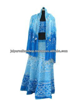 fancy Girls Lehenga choli / ghagra choli / garba dance dress