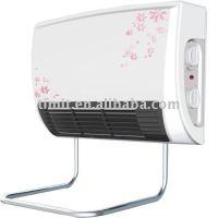 Bathroom wall mount electric fan heater
