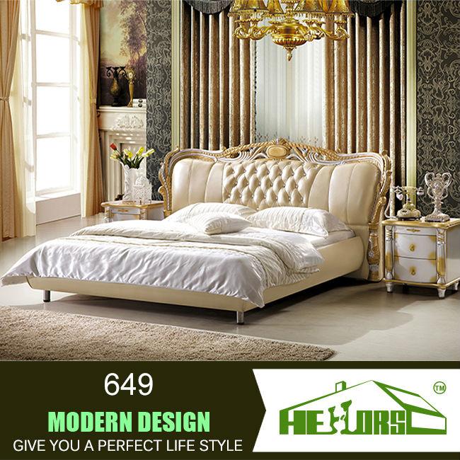 2014 new design furniture bed italian bedroom set latest