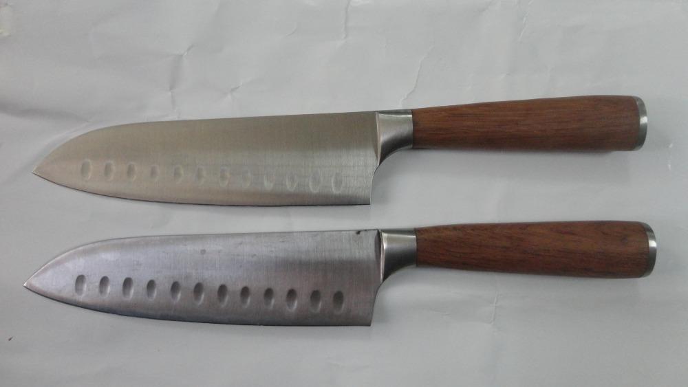 japanese kitchen knife custom hand yellow rosewood handle japanese traditional kitchen knife sushi knives handmade knife