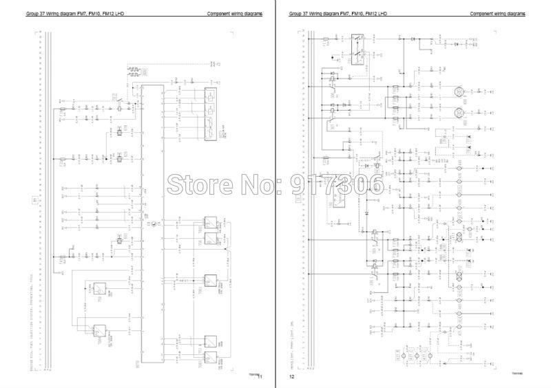 2007 volvo truck wiring diagrams