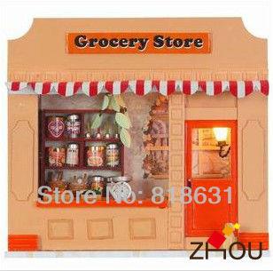 Animal Crossing Desktop Wallpaper Grocery Store Building Cartoon