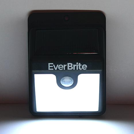 EverBrite™ Deluxe 2-pack Solar-Powered Outdoor Lights - 8631798 HSN