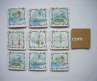 Custom Cork Drink Coaster,Cork Beer Coaster,Paper Printed ...