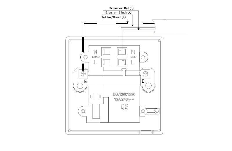 mk double pole switch wiring diagram