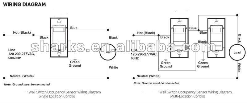 leviton occupancy sensor wall switch
