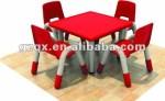 Mesa De Estudo De Pl Stico E Cadeiras Crian As Mesa De Jantar E