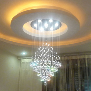 Crystal Ceiling Lights FREE-SHIPPING-EMS-Modern-crystal-lamp-living-room-lights-circle-ceiling-light-decoration-lamp ...