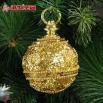 De Ouro Actuar O Papel De Espuma Luxo G Bola De Natal Ornamento