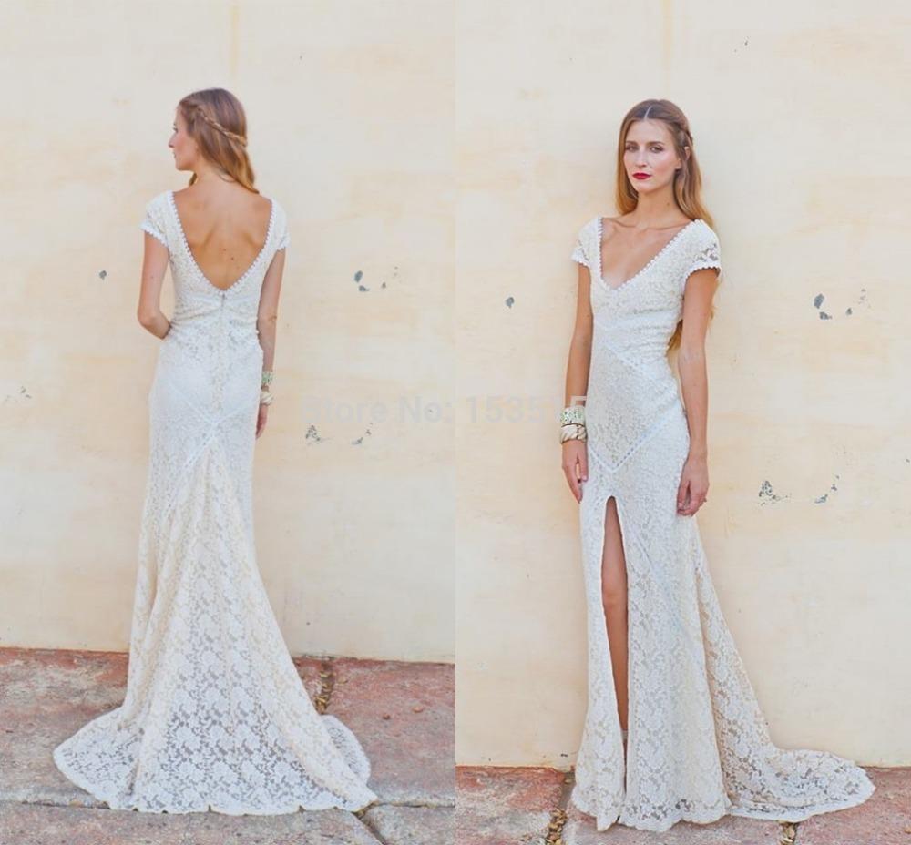 simple white wedding dress beach white casual wedding dresses Guest Wedding Dresses For Beach Blue A