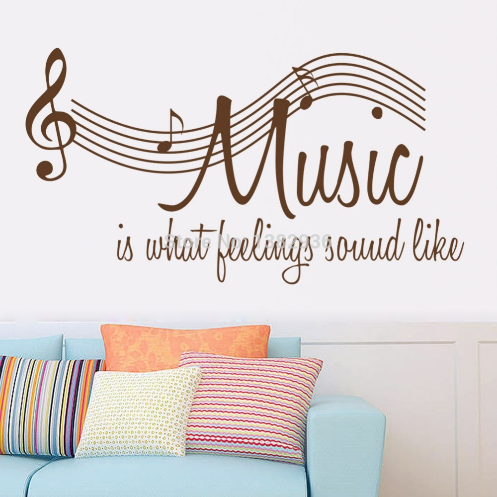 hot sale music wall decals wall decorations living room sale wall sticker commercial window wall stickers christmas