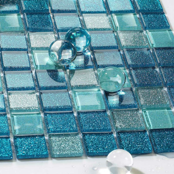 glass backsplash kitchen tile blue glass mosaic design mirrored wall mirrored butterfly pvc wall stickers mirror art decal decor modern