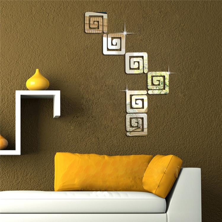 wall sticker diy combination wall mirror modern design mirror wall wall mirror stickers tonka design digsdigs