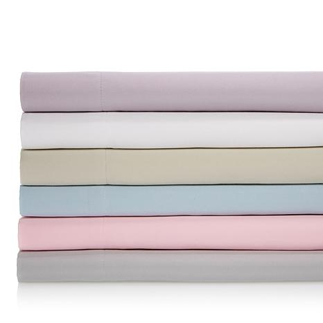 Concierge Collection Brushed Microfiber Sheet Set w/Extra Pillowcases