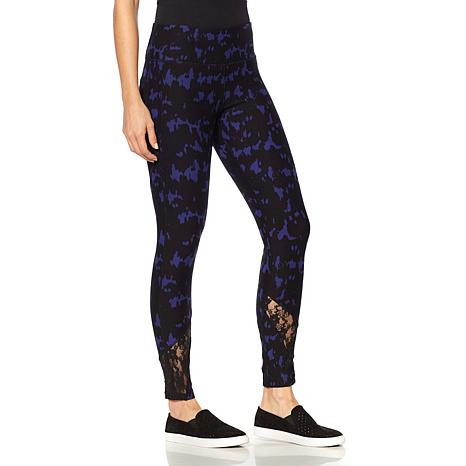 Warrior by Danica Patrick Lace Detail Legging - 8451624 HSN