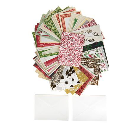 Anna Griffin® Perfect Patterns Xmas Cards and Envelopes - 8504353 HSN