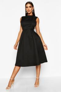 Boohoo Womens Sana Boutique High Neck Prom Dress | eBay