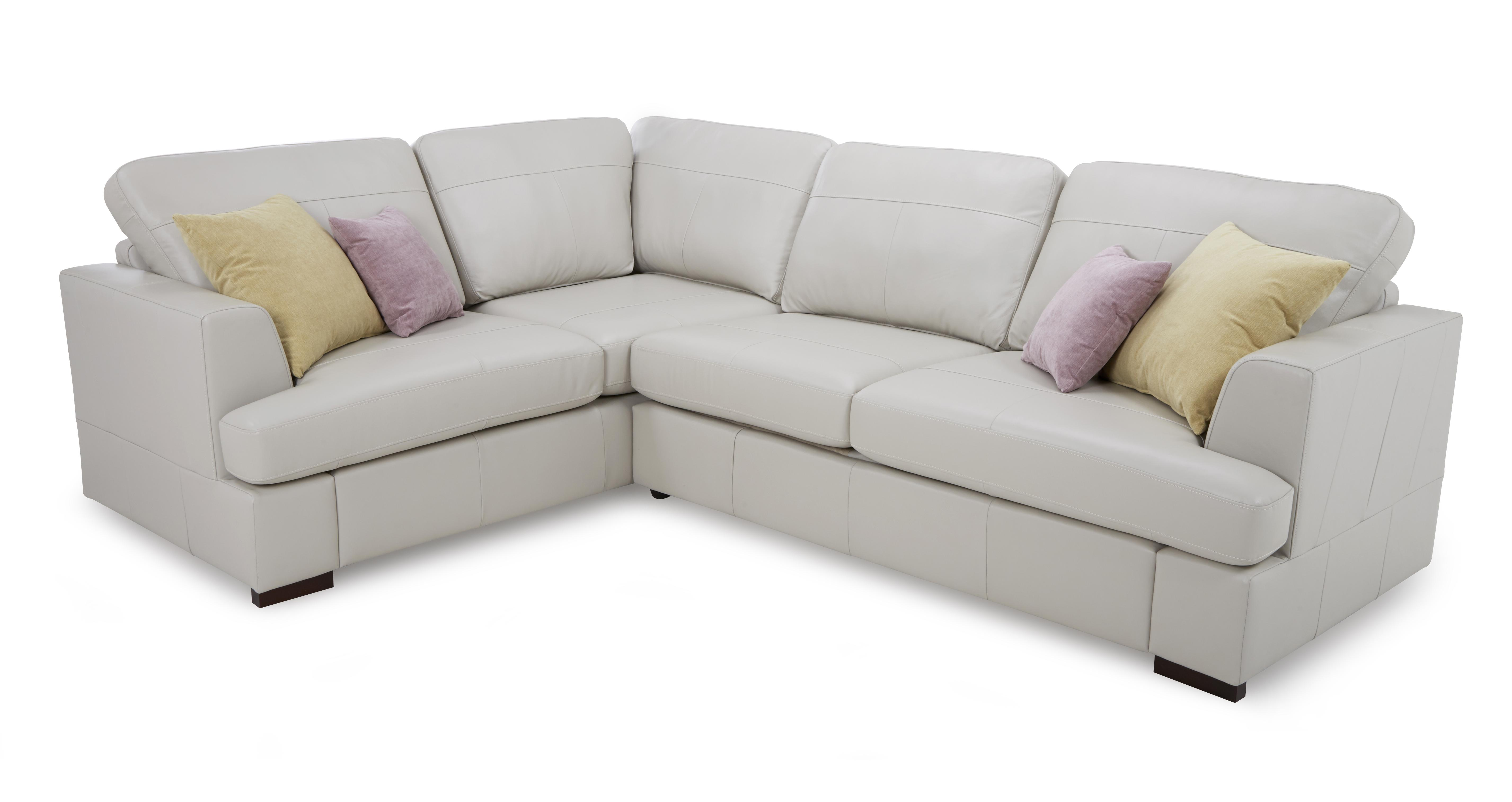 Dfs Leather Sofa Freya Leather Right Hand Facing 2 Piece Corner Sofa