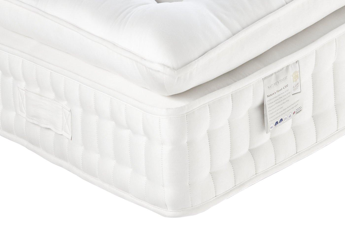 Small Super King Mattress Flaxby Natures Finest 4500 Mattress Medium Medium Soft 3 Single