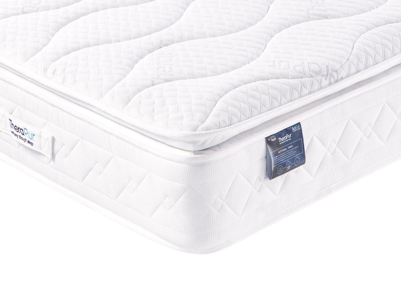 Small Super King Mattress Therapur Actigel 1000 Mattress Medium Firm 3 Single