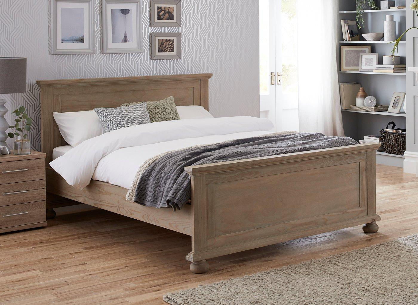 Cheap Wooden Bed Frames Jameson Natural Pine Wooden Bed Frame Wooden Beds Beds
