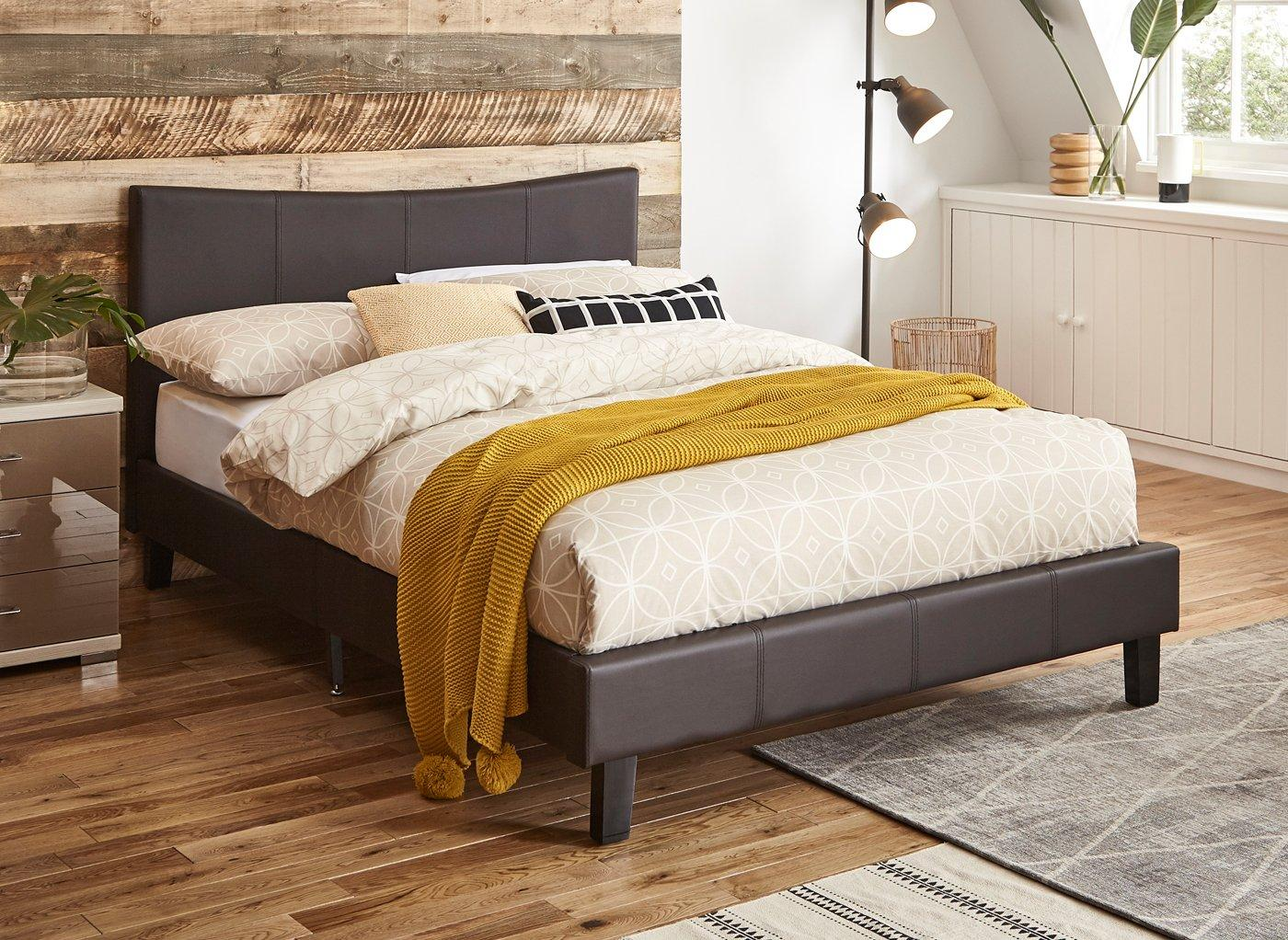 Leather Bed Jakarta Bed Frame Faux Leather Beds Beds Dreams