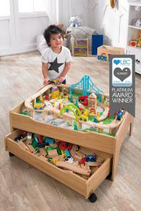 Reversible City and Train Table Set | Studio
