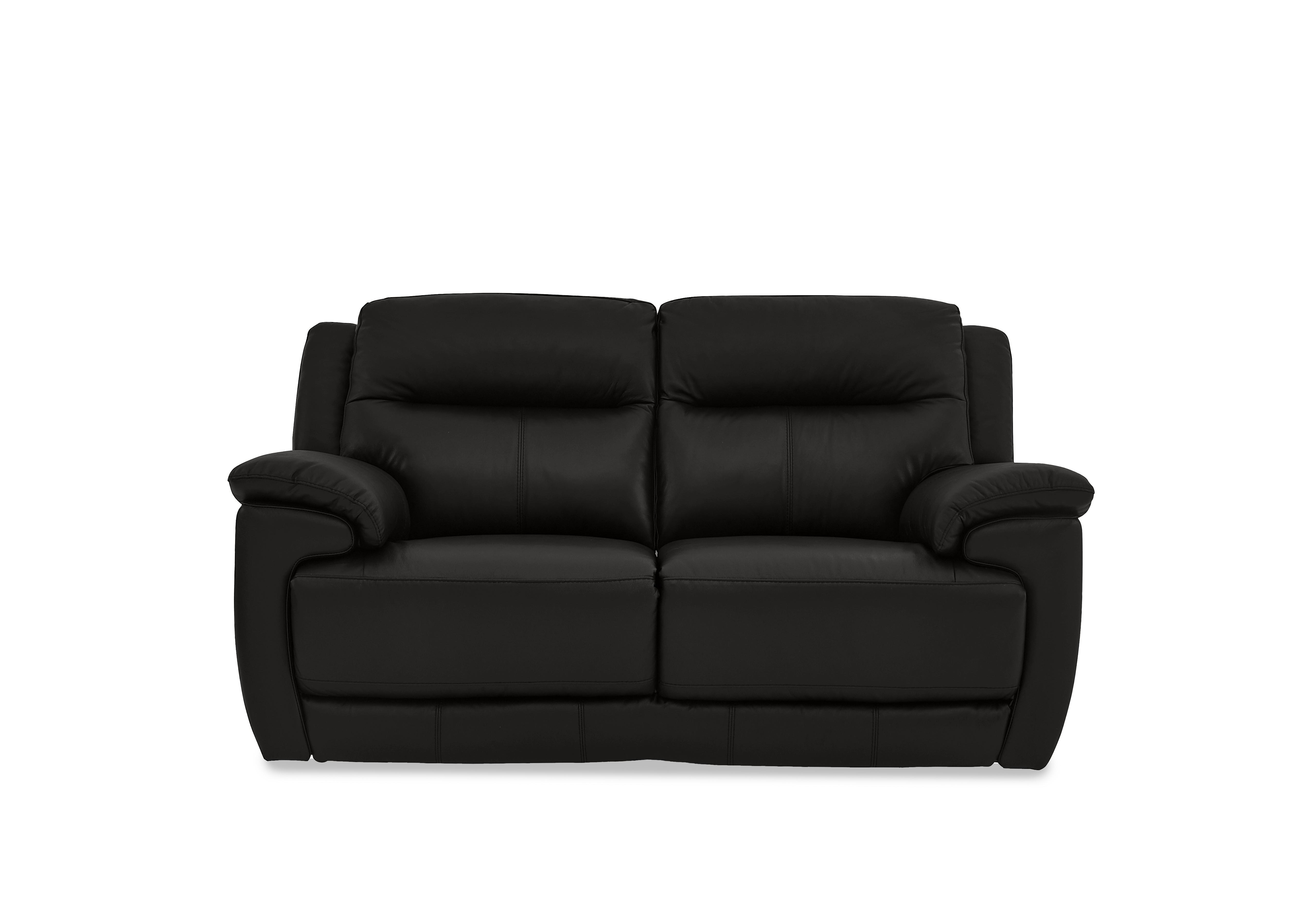Furniture Village Gallows Corner black leather recliner sofa furniture village | sofa beds grey