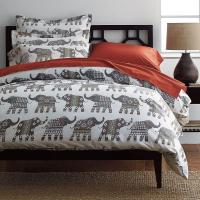 Elephant Caravan Percale Sheets & Bedding Set | The ...